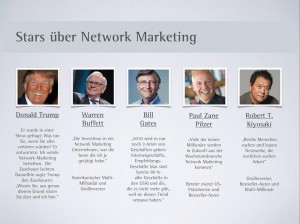 Stars-über-Network-Marketing